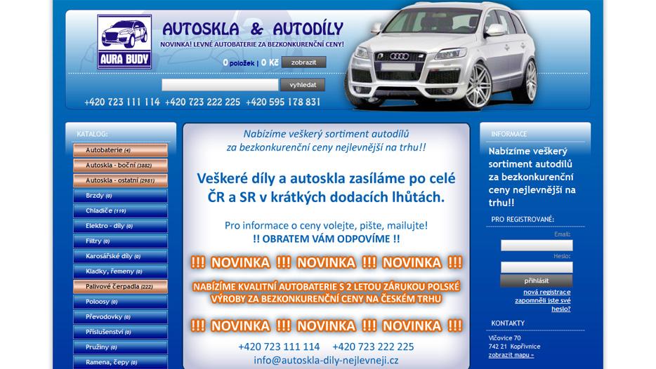 Autoskla-dily-nejlevneji.cz