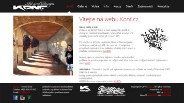 Osobní stránka českého výtvarníka, grafika a designéra Tomáše Bíroše