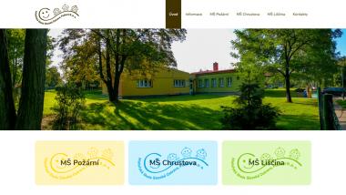 Mateřská škola Slezská Ostrava sodloučenými pracovišti MŠPožární, MŠChrustova a MŠLiščina