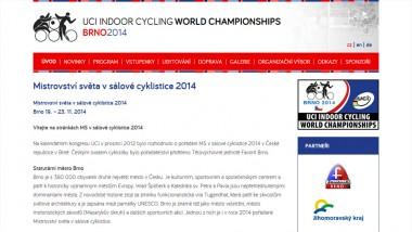 Mistrovství světa v sálové cyklistice 2014 pořádané v Brně