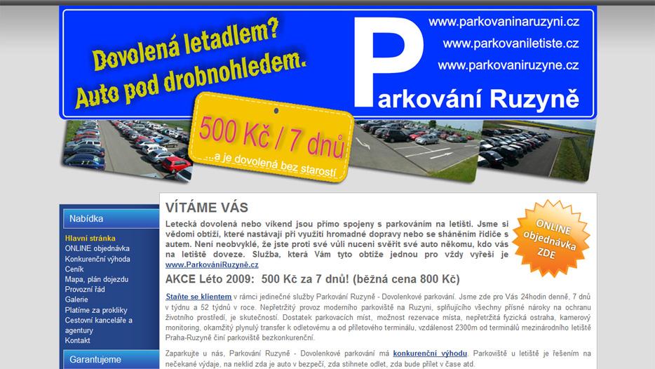 Parkovaniruzyne.cz