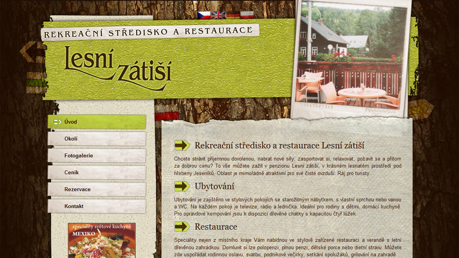 Rekreace-lesnizatisi.cz