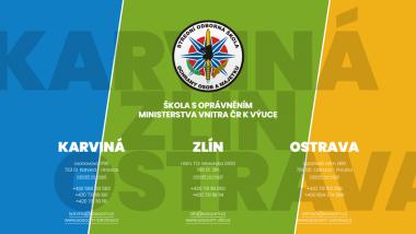 Střední odborná škola ochrany osob a majetku s.r.o. v Karviné, Zlíně a Ostravě